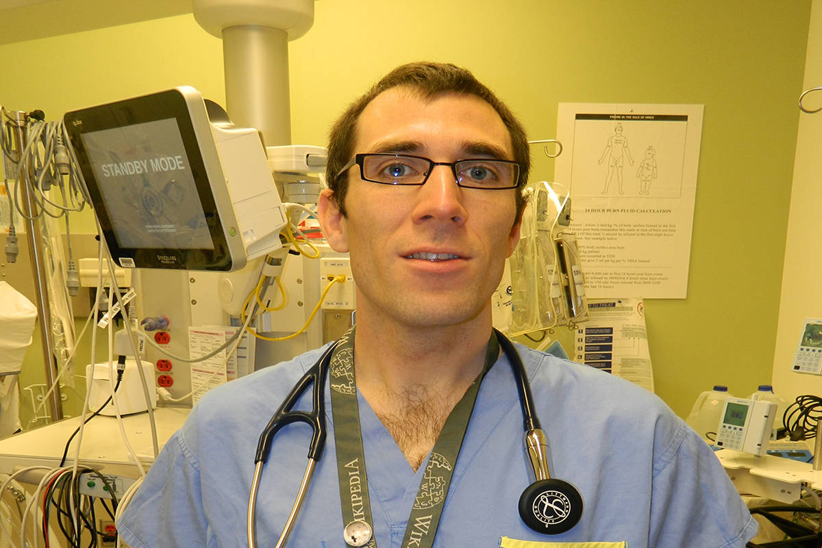 Dr. James Heilman is an Emergency Physician at the East Kootenay Regional Hospital. He says that the community needs to work together to prevent the spread of COVID-19. (Townsman file photo)
