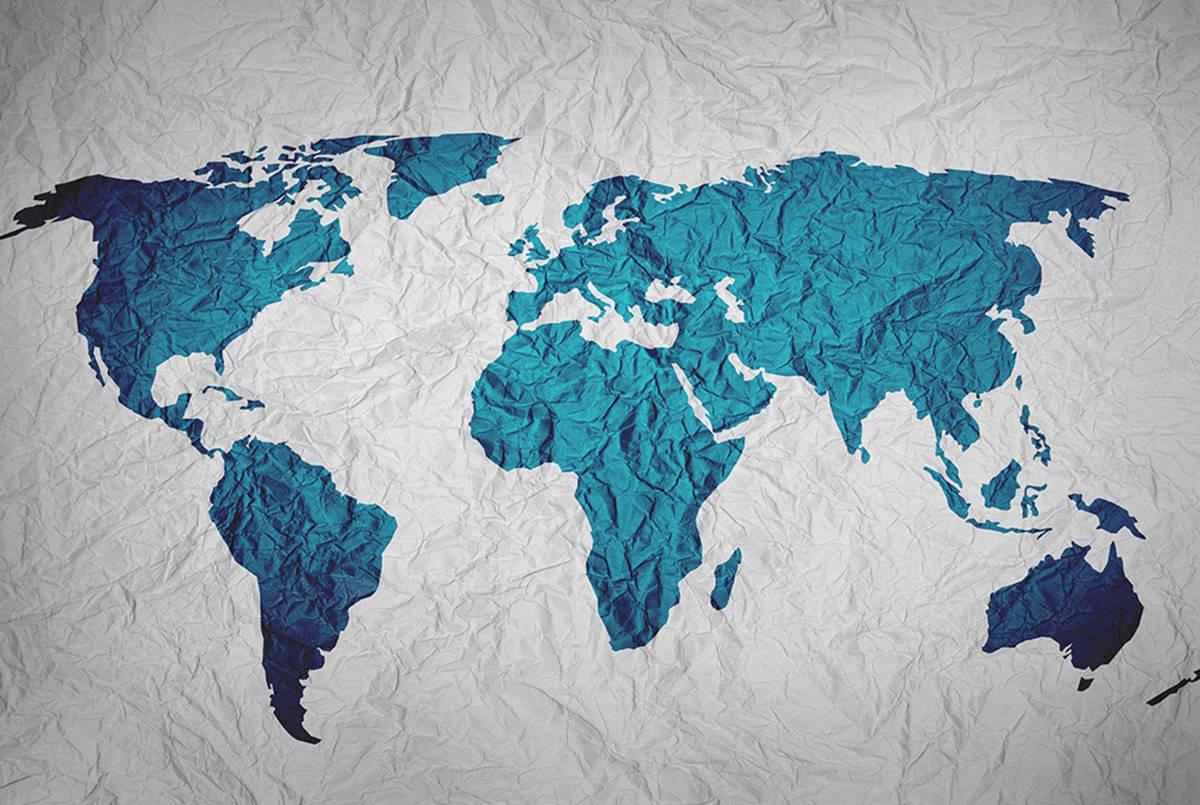 Map of world (Pixabay photo)