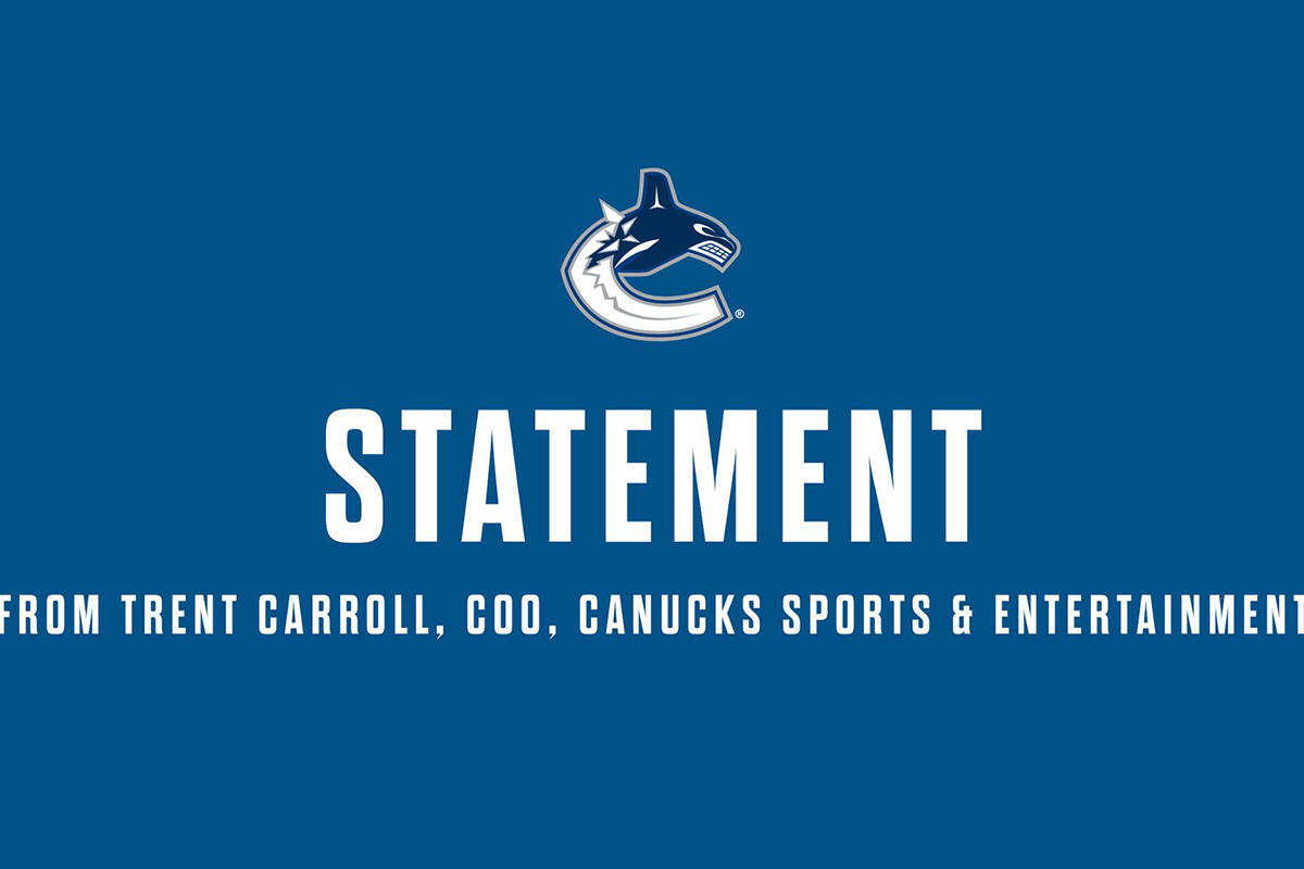 Canucks employee tests positive for COVID-19: COO