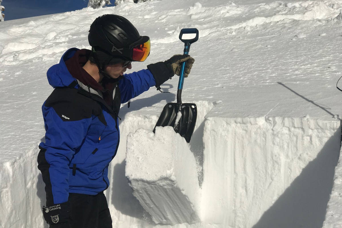 Avalanche Canada is calling on backcountry users to submit their observations as backcountry businesses, that usually contribute to forecast data are closing due to the pandemic. (File photo)