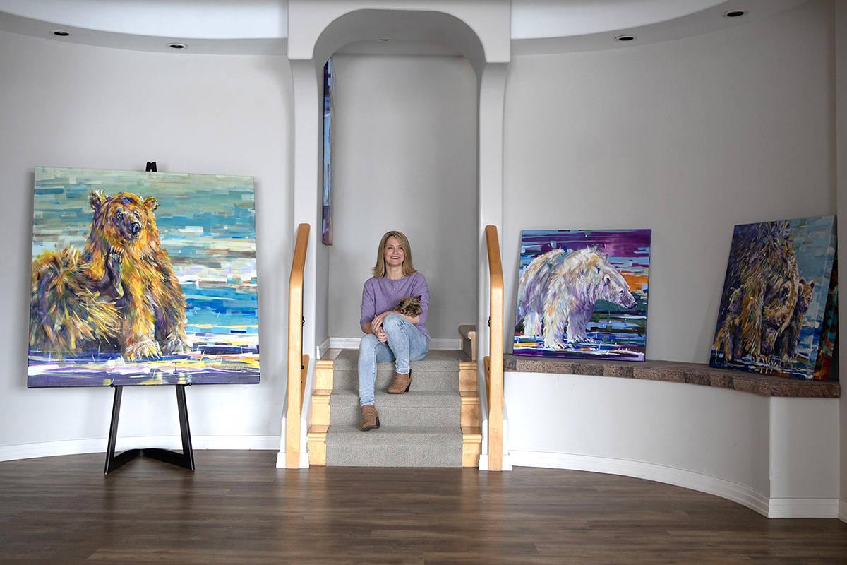 In Studio with artist Anita McComas