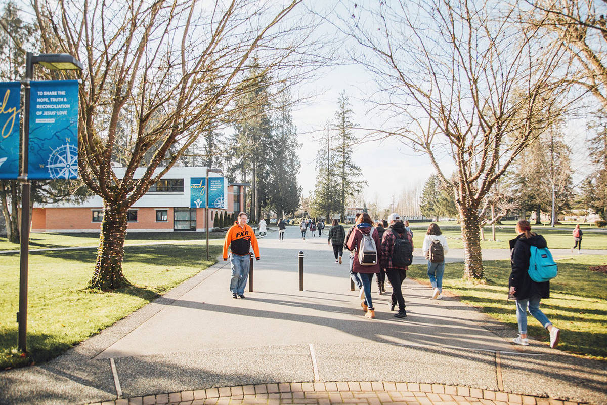 Trinity Western University offers online campus tours. (Langley Advance Times files)