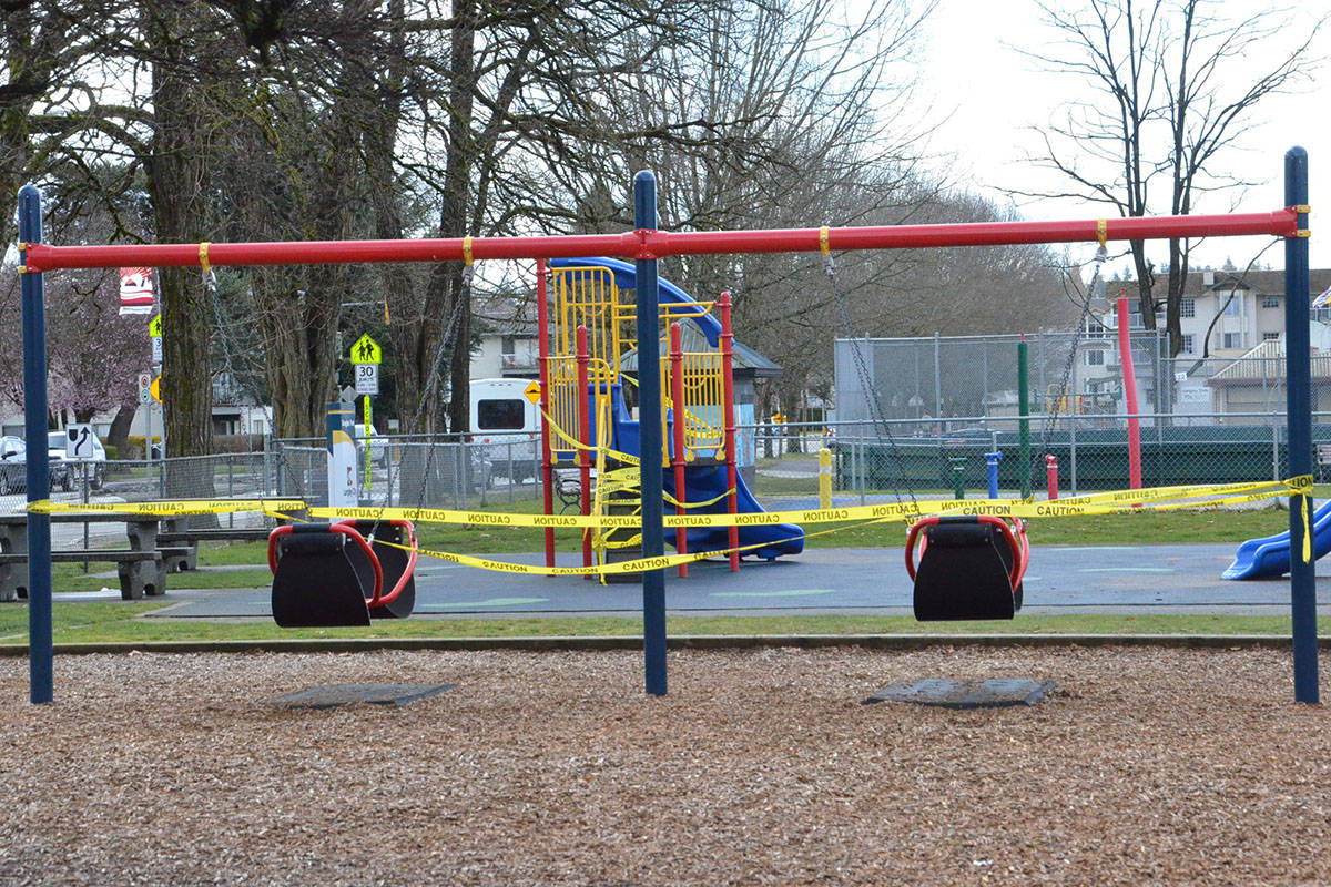 Langley City, Township, and school district close playgrounds to the public
