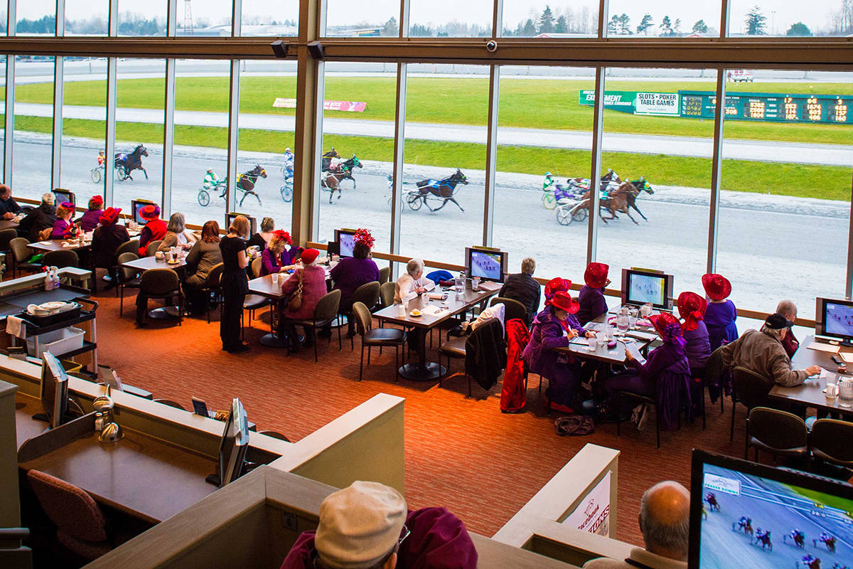 Great Canadian Gaming Corporation closed Fraser Downs March 18 because of the COVID-19 pandemic, but that closure has left many horses and horsemen with nowhere to go. (Photo: elementscasinosurrey.com)