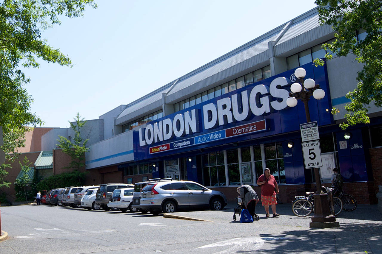 London Drugs will host special hours for frontline care workers during the COVID-19 pandemic. (Black Press Media file photo)