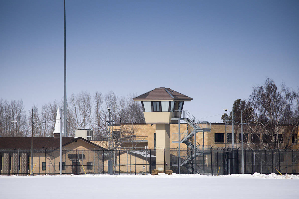 The Bowden Institution medium security facility near Bowden, Alta., Thursday, March 19, 2020.THE CANADIAN PRESS/Jeff McIntosh