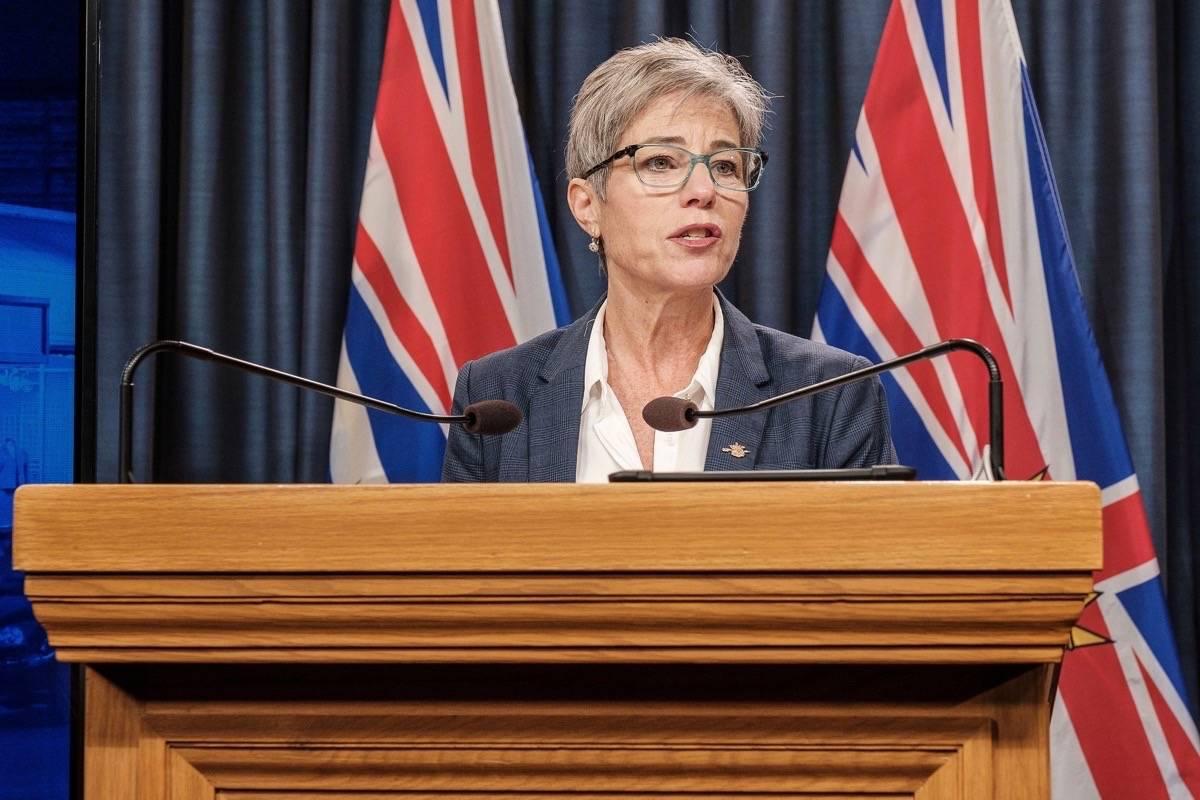 B.C. Municipal Affairs and Housing Minister Selina Robinson (B.C. government)