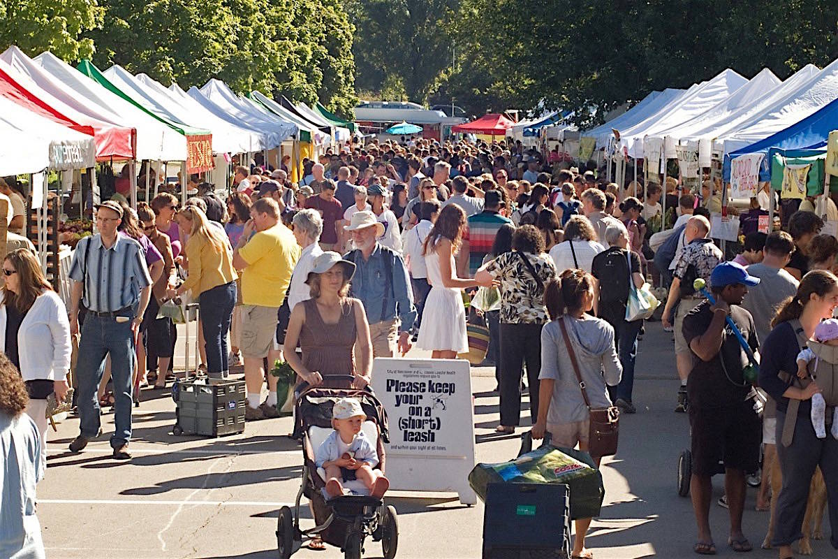 Farm markets are preparing for the 2020 season by adding online sales and other measures to prevent crowding. (B.C. Association of Farmers Markets)