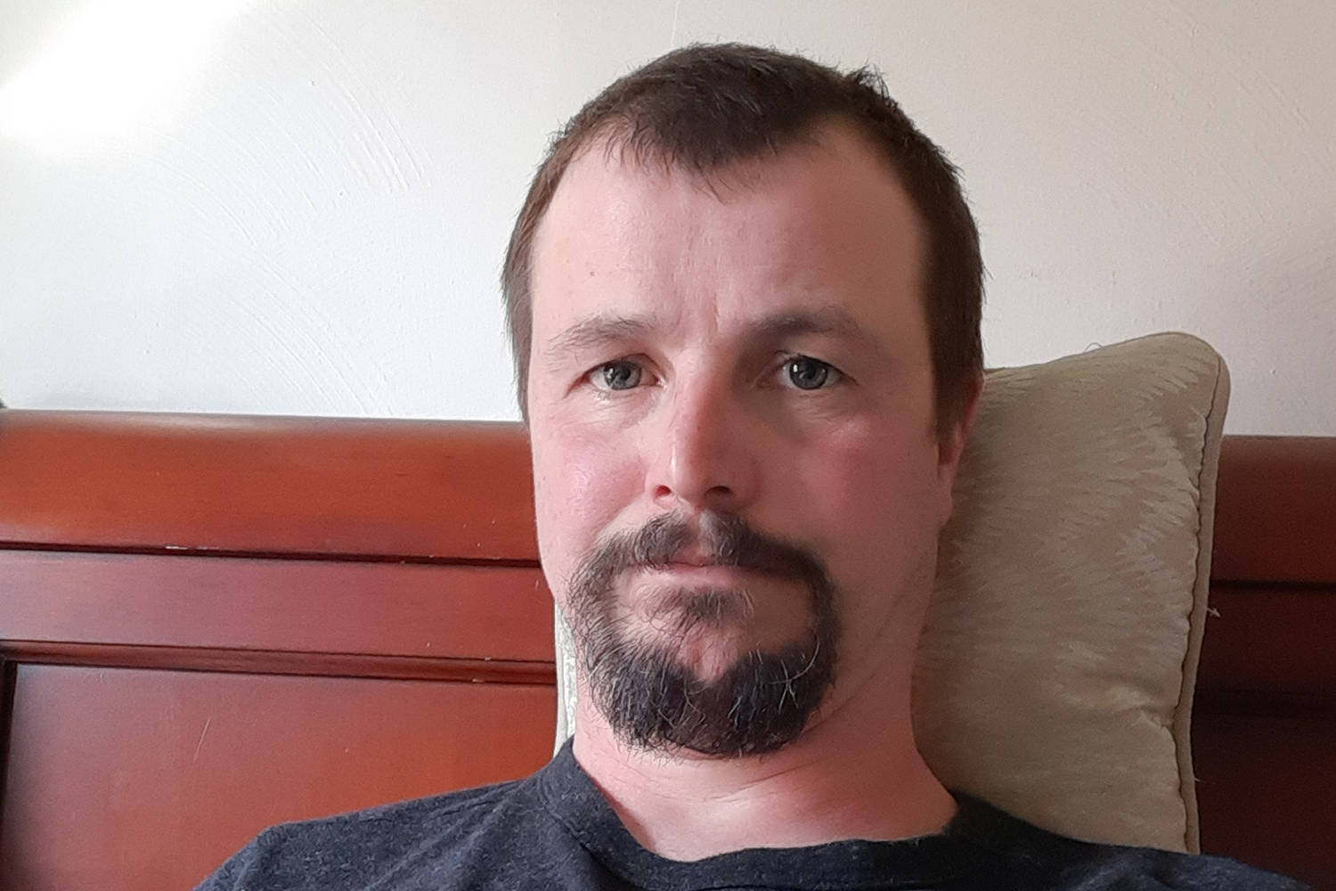 Tim Green, a 41-year-old Esquimalt resident, says he is not sure how he contracted COVID-19. (Tim Green/Submitted)