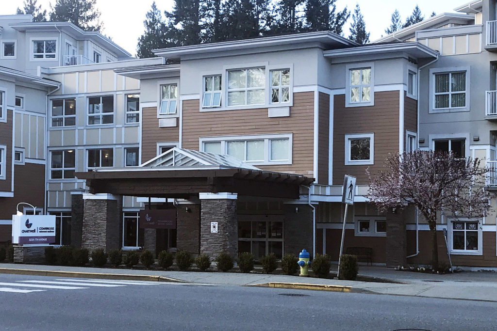 Two residents at Mission's Chartwell Cedarbrooke Retirement Residence have been diagnosed with COVID-19. / Kevin Mills Photo