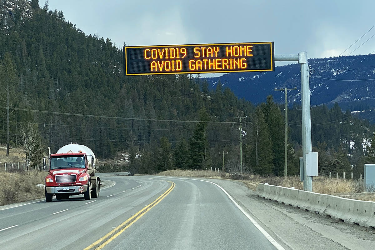 Some drivers are having to go an hour outside of their regular routes just to find a bathroom. (Lachlan Labere-Salmon Arm Observer)