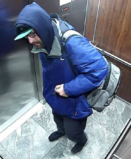 The pictured man is alleged to have used stolen keys and fob to enter a residence in Langley City and steal various items valued at approximately $200. (Langley RCMP)