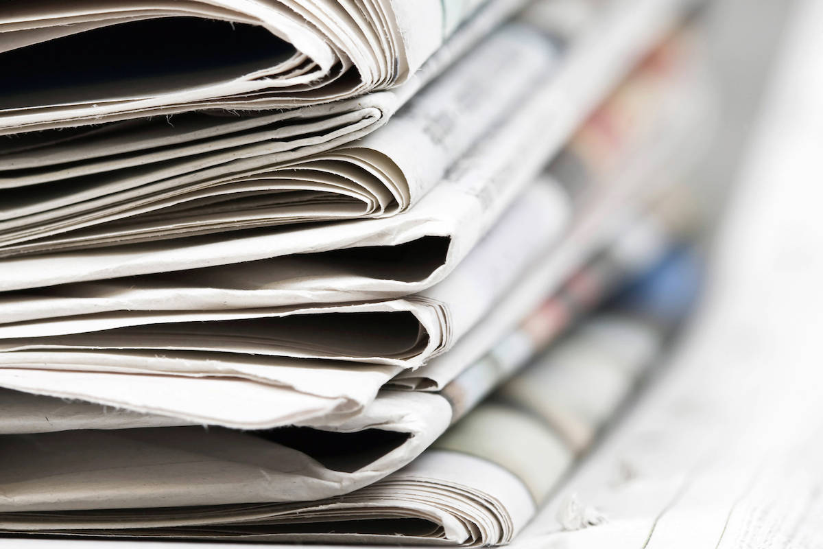 Community newspapers need support amid the current COVID-19 pandemic. (File photo)
