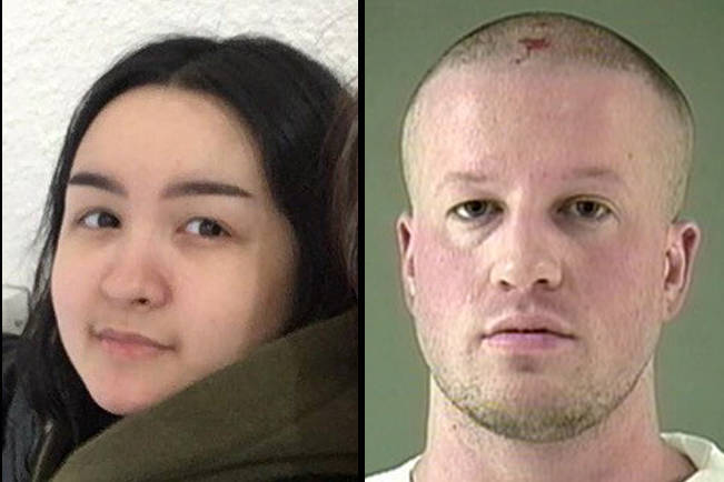 Nanaimo RCMP are asking for help locating a 17-year-old girl, Mary Cyprich, thought to be in the company of 36-year-old Force Forsythe. (Photos submitted)