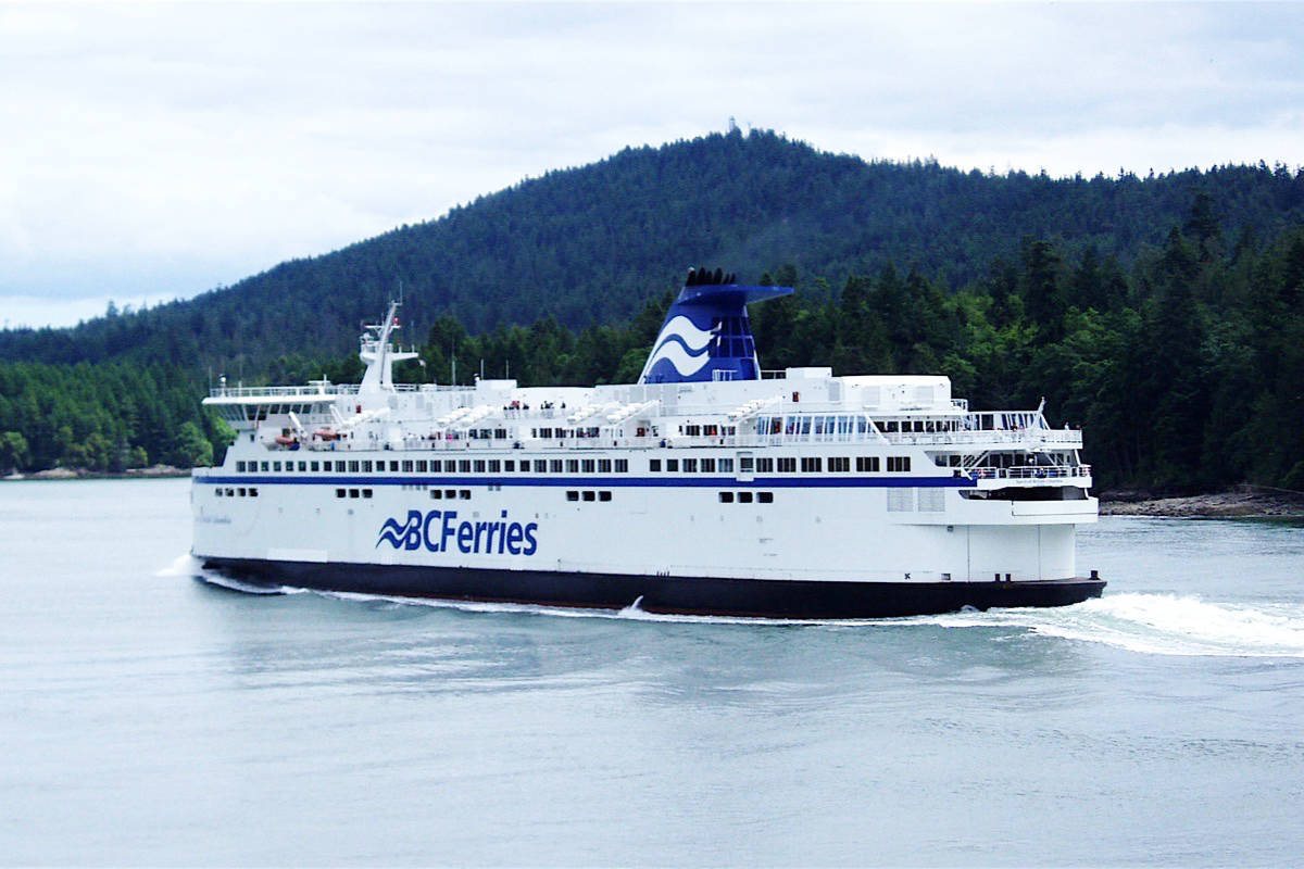 Travellers using BC Ferries will be subject to health checks starting Monday, April 6, 2020. (Black Press Media File).