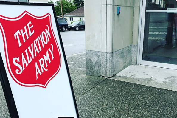 Salvation Army is asking the public to refrain from leaving items outside closed stores and donation bins. (Black Press Media file)