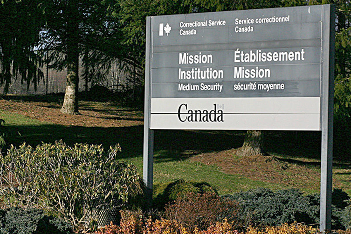 5 inmates hospitalized from COVID-19 at Mission Institution, 4 corrections officers test positive