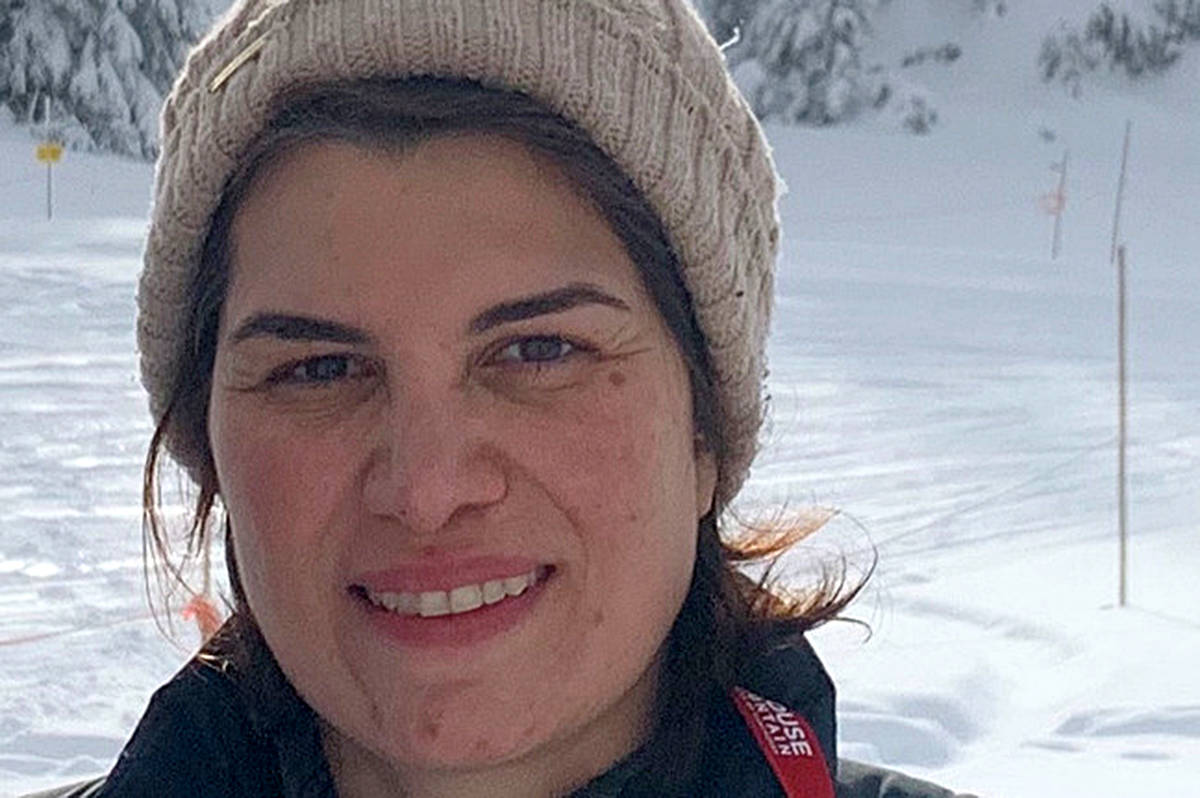 Atefeh Jadidian went missing Feb. 19, last seen in Maple Ridge. (GoFundMe/Special to The News)