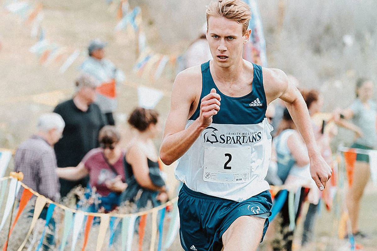 Langley athlete Nick Colyn won the Spartans Complete Champion Award – the top honour a Spartan athlete can earn over his or her careers at Trinity Western University (file)