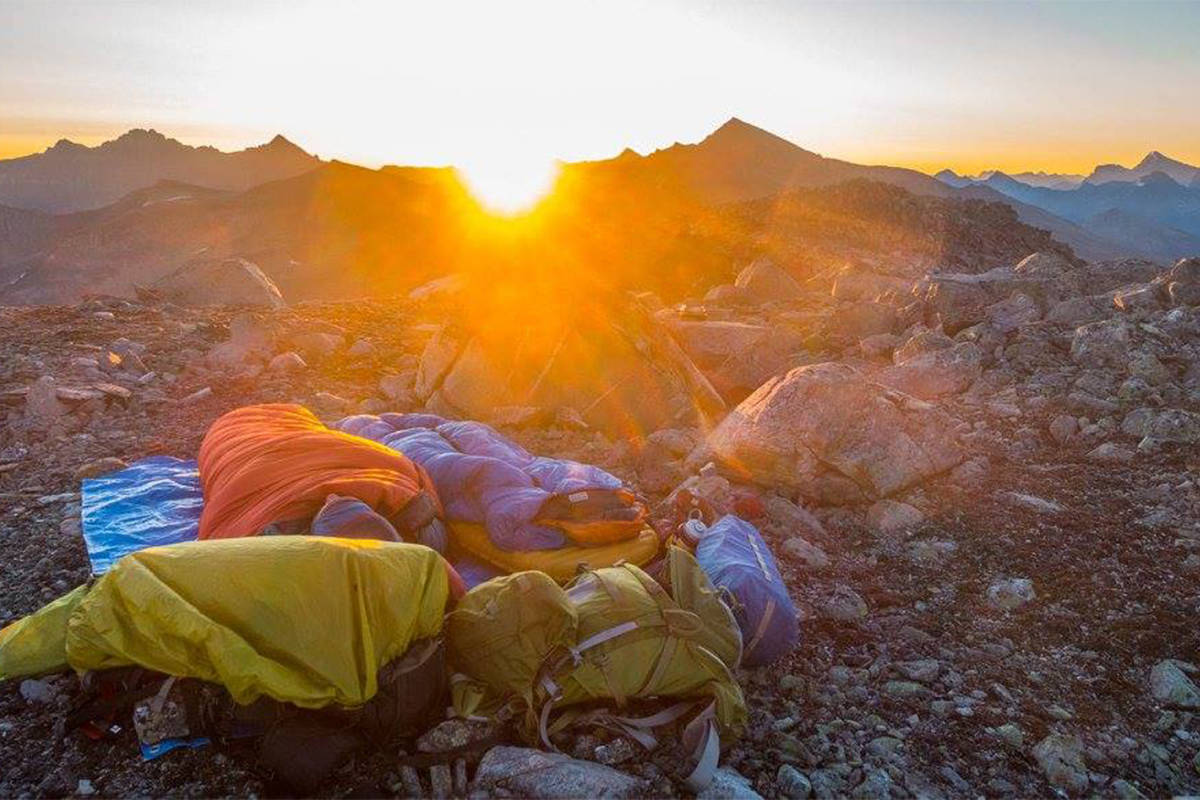 Camping in Jasper National Park. (Liam Harrap/Revelstoke Review)