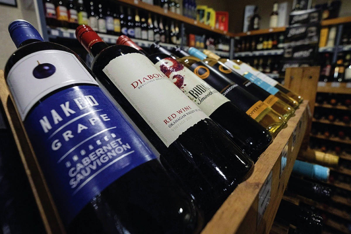 Sales at BC Liquor Store were up 40 per cent for the month of March. (Black Press files)