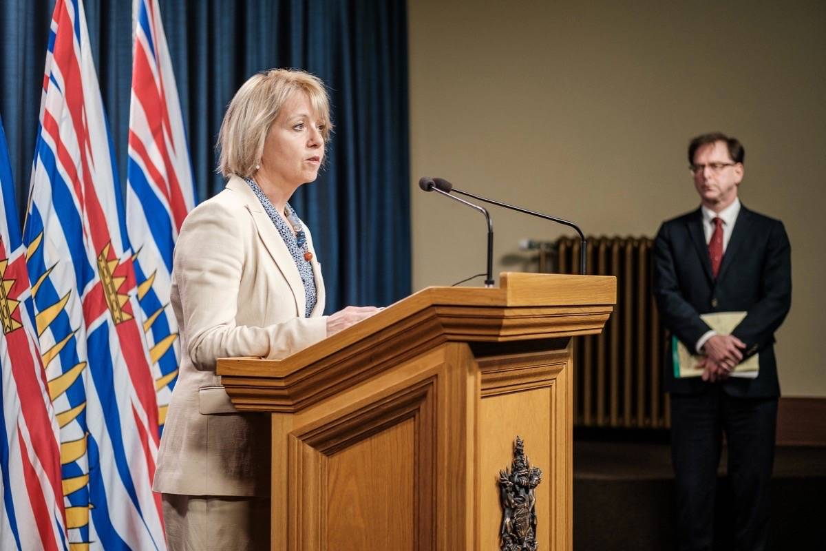 Provincial health officer Dr. Bonnie Henry and B.C. Health Minister Adrian Dix have been giving daily updates on the coronavirus pandemic. (B.C. government)