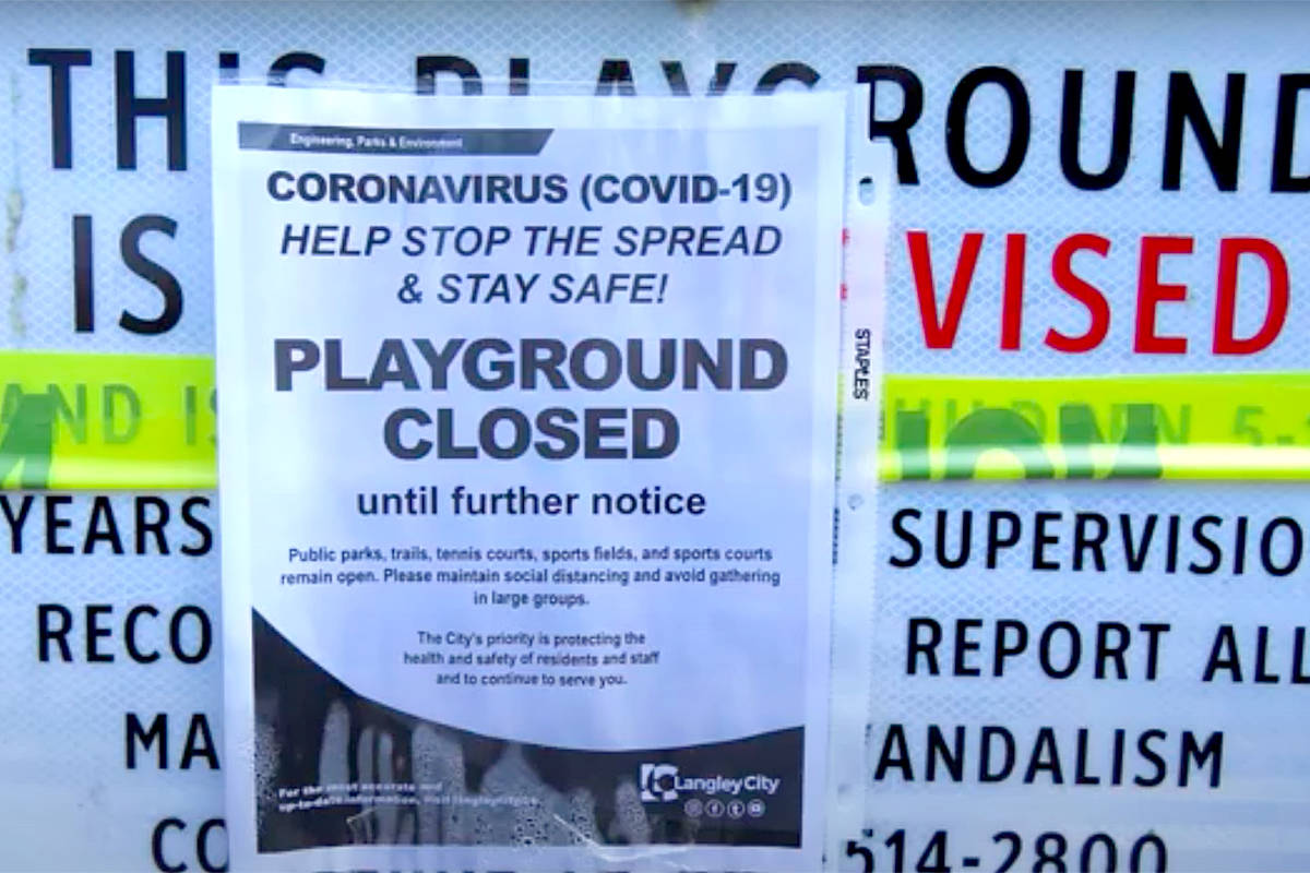 SLIDESHOW: COVID pandemic reaches Langley