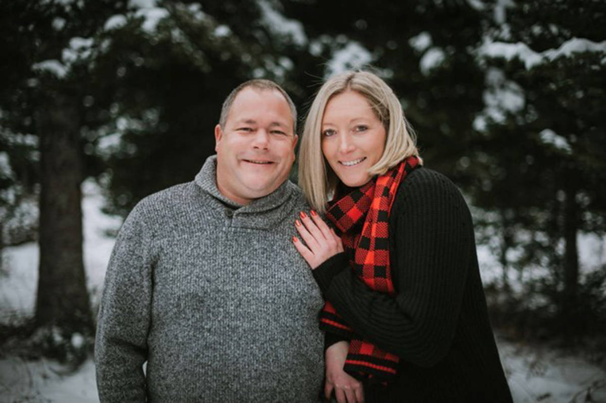 Correctional officers Sean McLeod and Alanna Jenkins are shown in a family handout photo. The couple is among the victims of the mass killing in Nova Scotia this past weekend. THE CANADIAN PRESS/HO-Taylor McLeod MANDATORY CREDIT