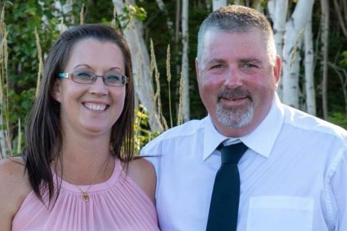 Jamie Blair (left) and Greg Blair are shown in a family handout photo. They are among the victims of the killing spree in Nova Scotia this past weekend. THE CANADIAN PRESS/HO-Kelly Blair MANDATORY CREDIT