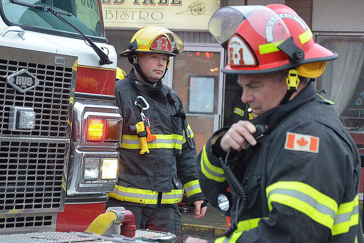 Langley firefighters: Geared up and ready to help