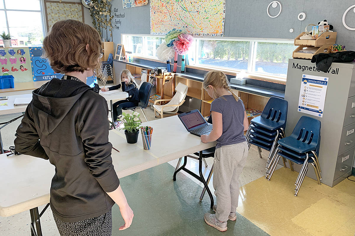 Langley Christian School is one of several hosting day cares for the children of first responders during the COVID-19 outbreak (Harmony Wilson/special to Langley Advance Times)