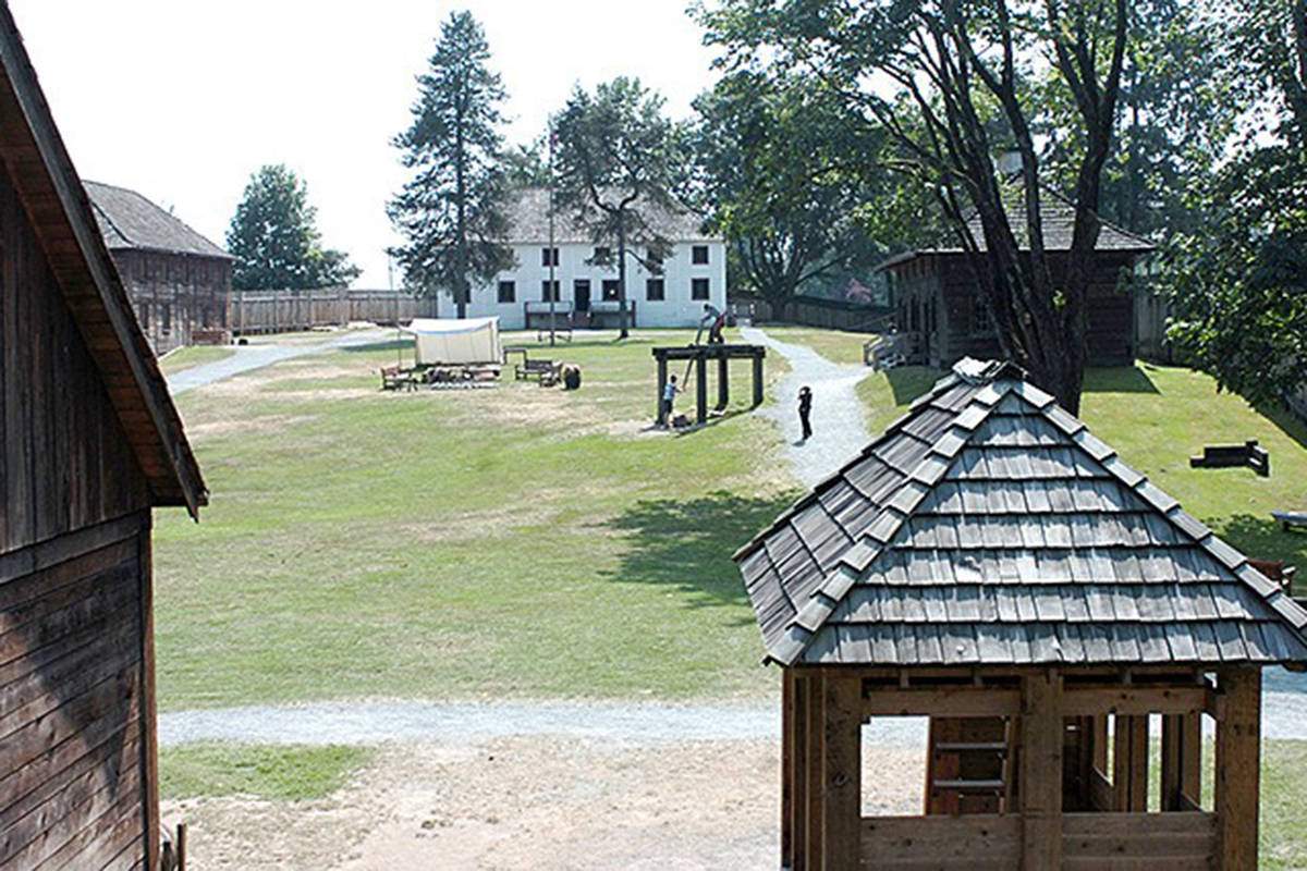 The Fort Langley National Historic Site is a sprawling complex and a recreation of the original Hudson's Bay fort in the area. (Black Press Media file photo)