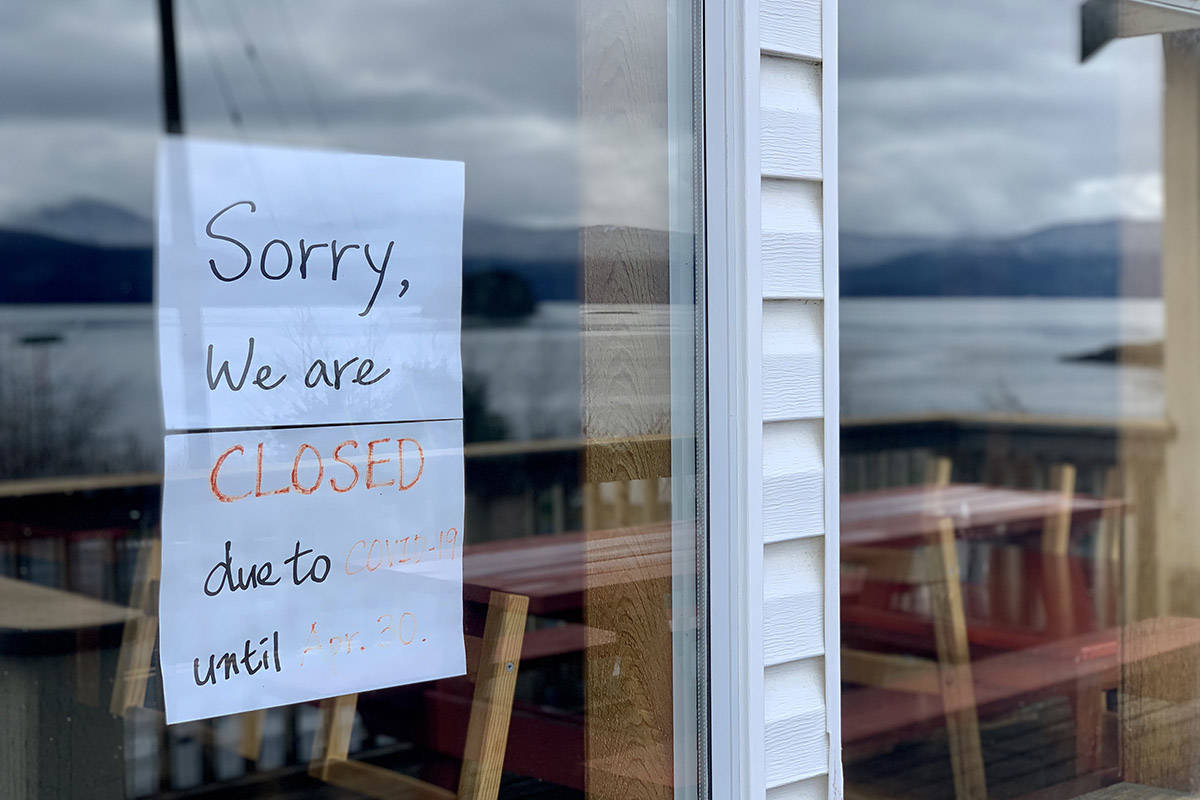 The Sea Raven restaurant in Queen Charlotte is one of several restaurants on-island that have completely closed during the COVID-19 pandemic. (Karissa Gall/Haida Gwaii Observer)