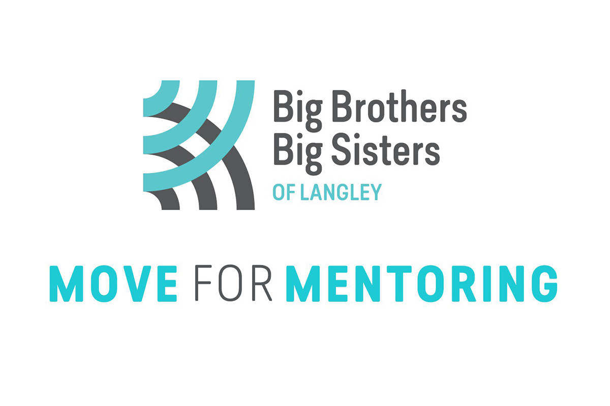 Big Brothers Big Sisters of Langley introduced Move for Mentoring – a virtual fundraiser and challenge to rally neighbours and increase community engagement. (Big Brothers Big Sisters Langley/Special to the Langley Advance Times)