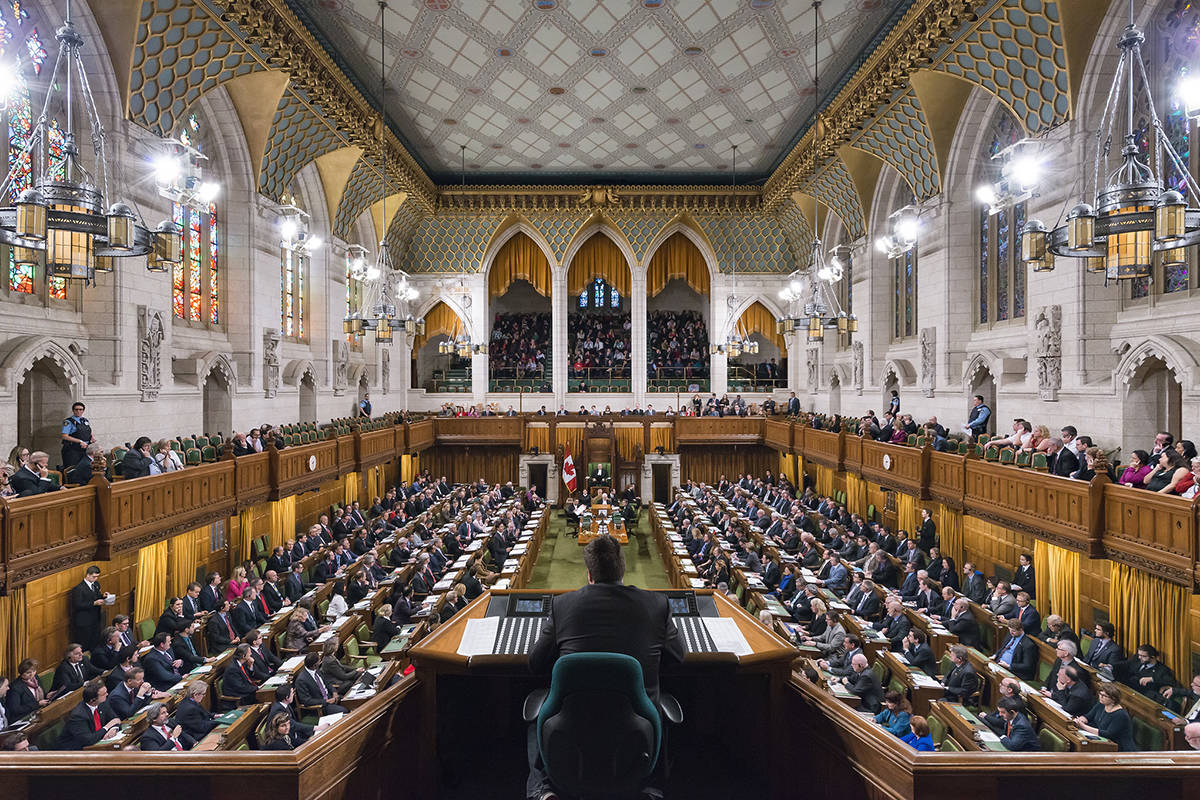 Canada's House of Commons (File photo)