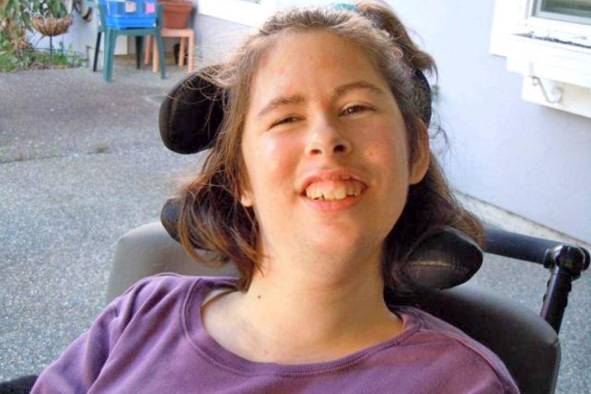 Ariis Knight, 40, at her home in South Surrey. Knight passed away April 18 at Peace Arch Hospital. (Contributed photo)