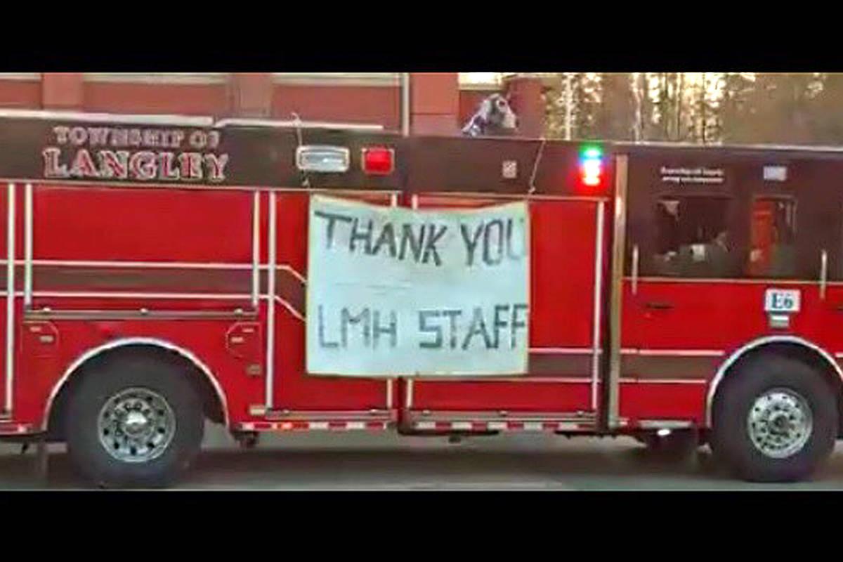 LETTER: Langley hospital worker shares 'huge thank you' for public support