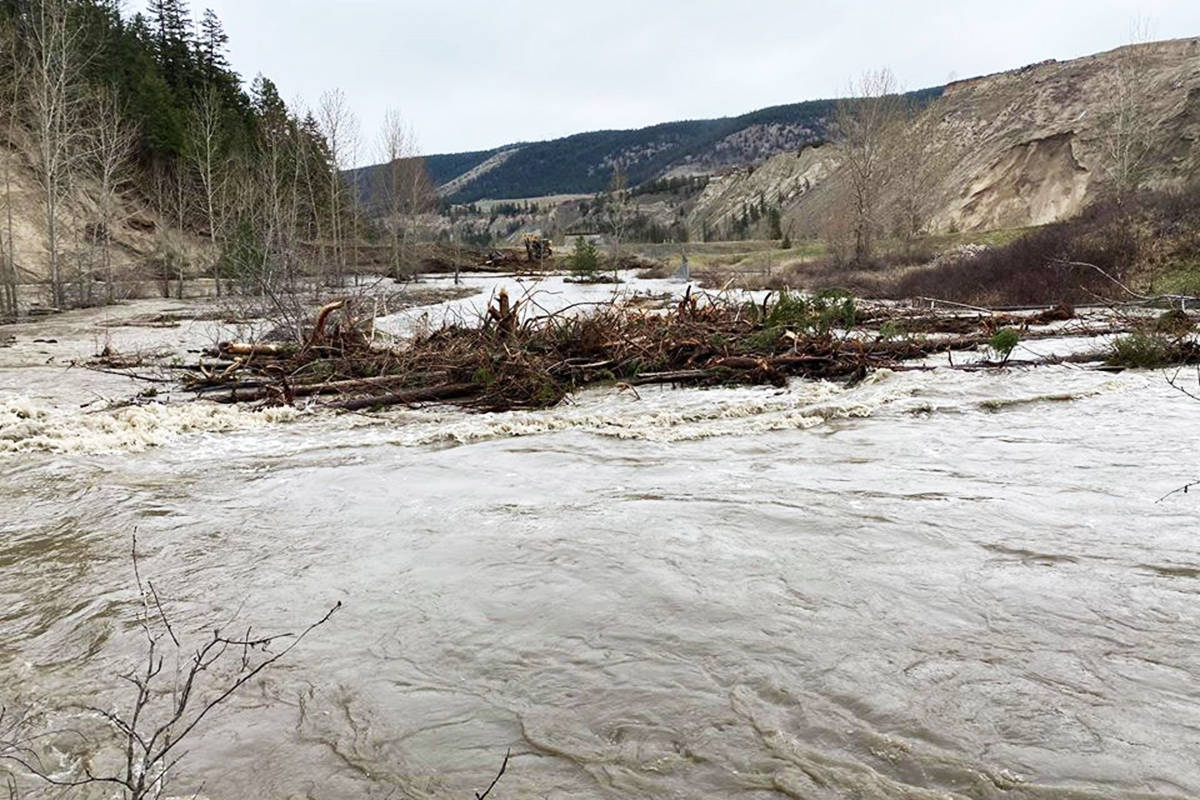 City of Williams Lake officials face challenges in the week ahead as extremely high water levels ravage the river valley. (Scott Nelson photo)