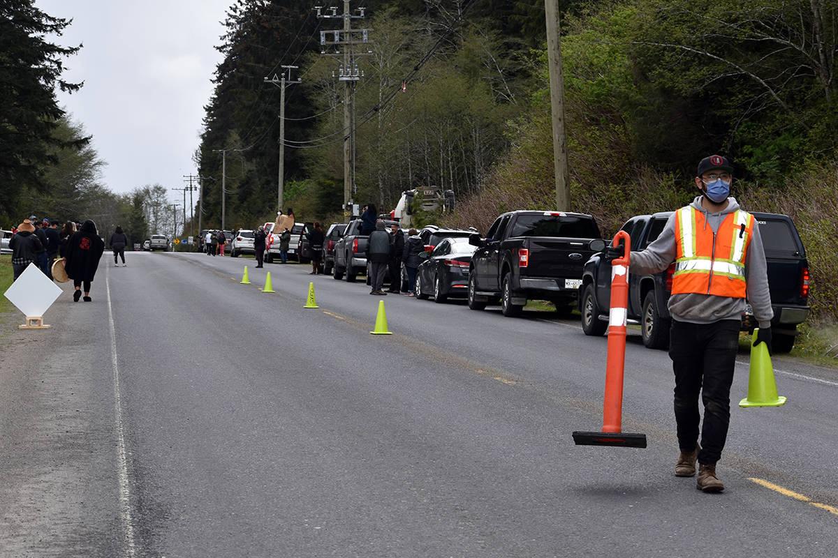 'Enough is enough': Haida Gwaii rallies to send visiting ferry traffic back to terminal