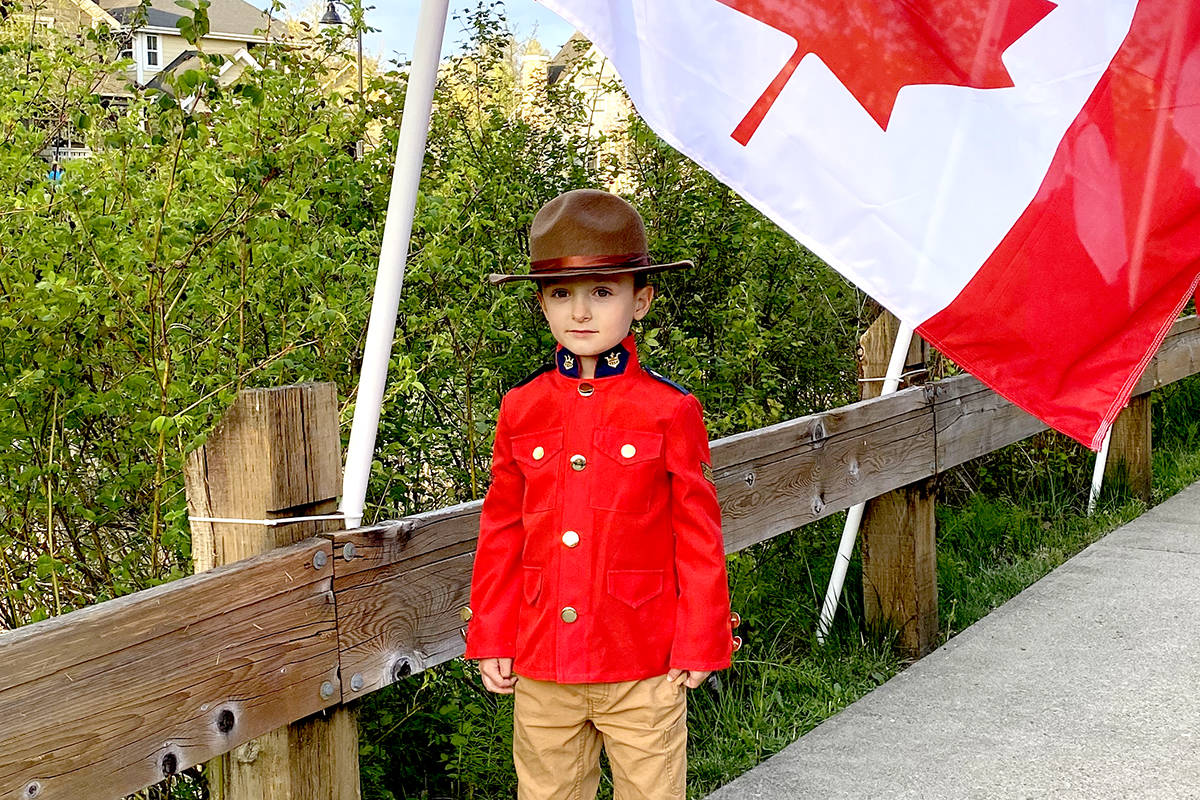 UPDATED: Fifty flags fly in Fort Langley neighbourhood