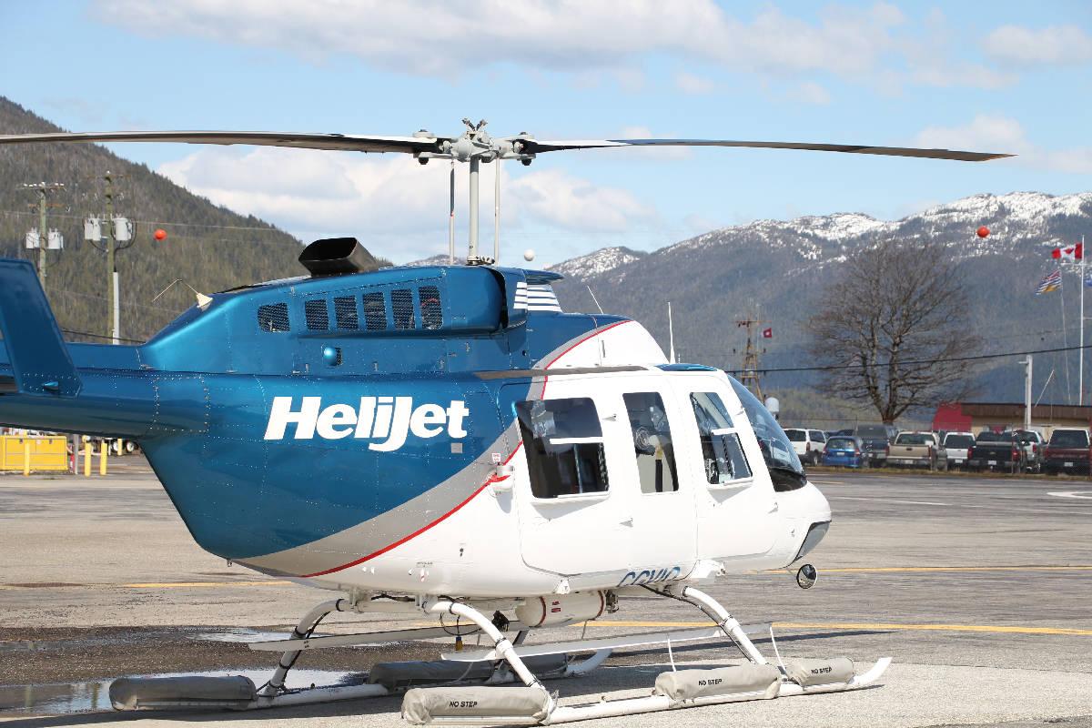 A Helijet helicopter. (Black Press Media files)