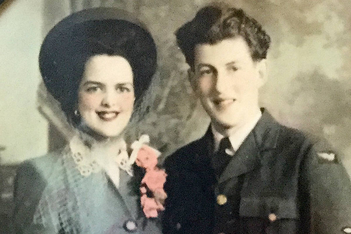Broken hip and COVID keep B.C. couple apart for 76th anniversary