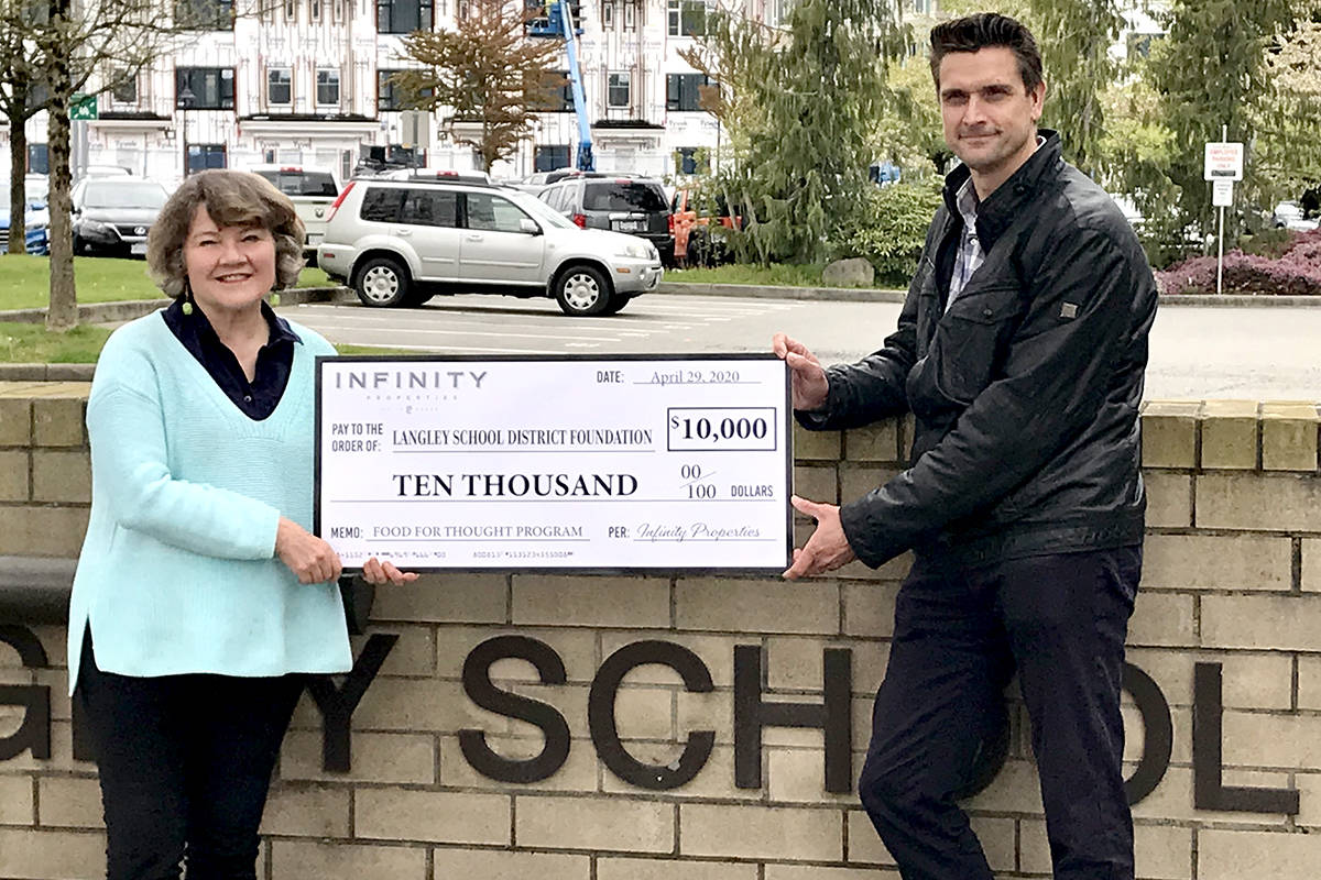 Langley School District Foundation gifted Eclipse Cross to further food program reach