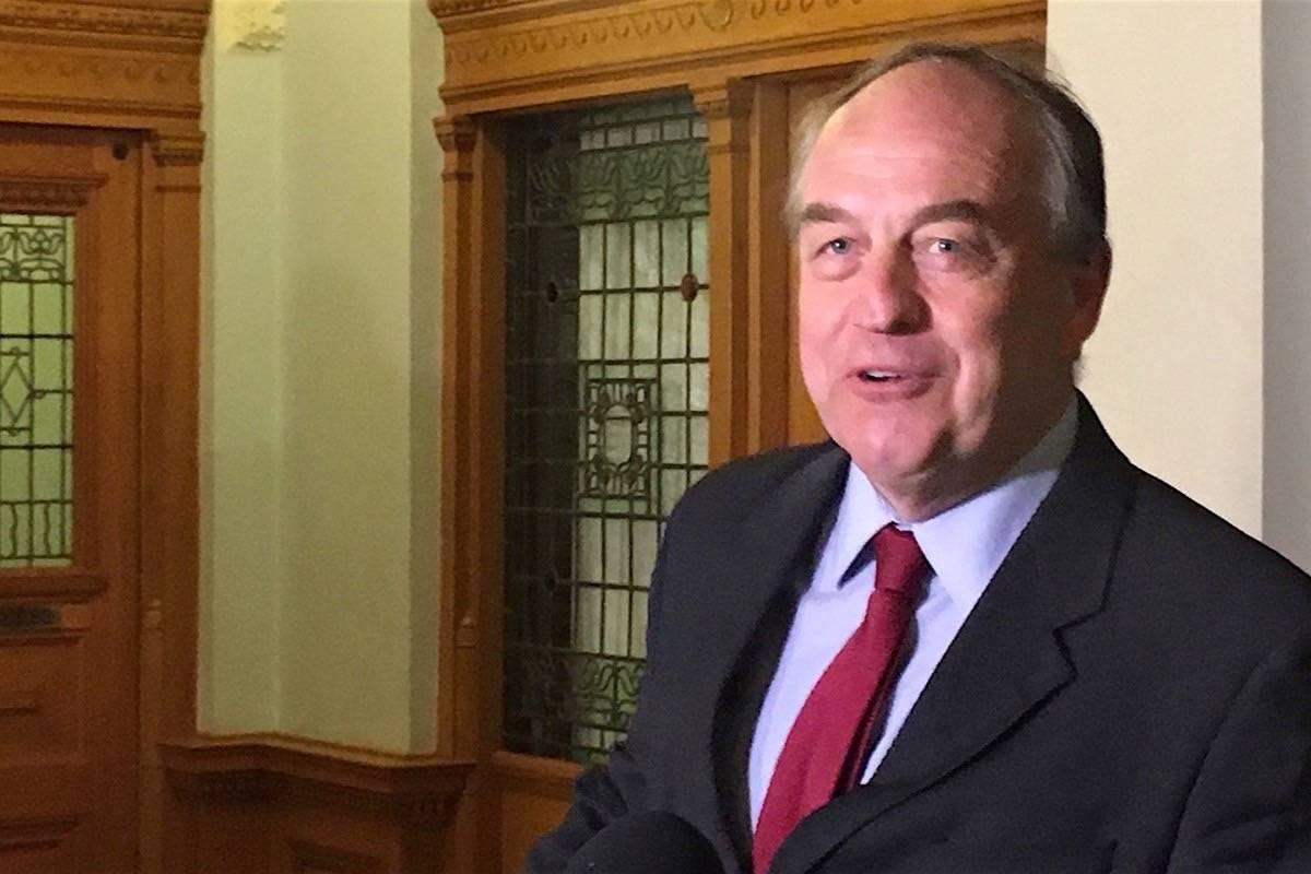 BC Green Party MLA Andrew Weaver. (Black Press Media file photo)