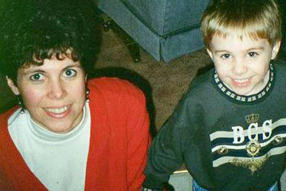 Columnist Ryan Uytdewilligen and his mother Kim sometime in the early 1990s. (Ryan Uytdewilligen/Langley Advance Times)