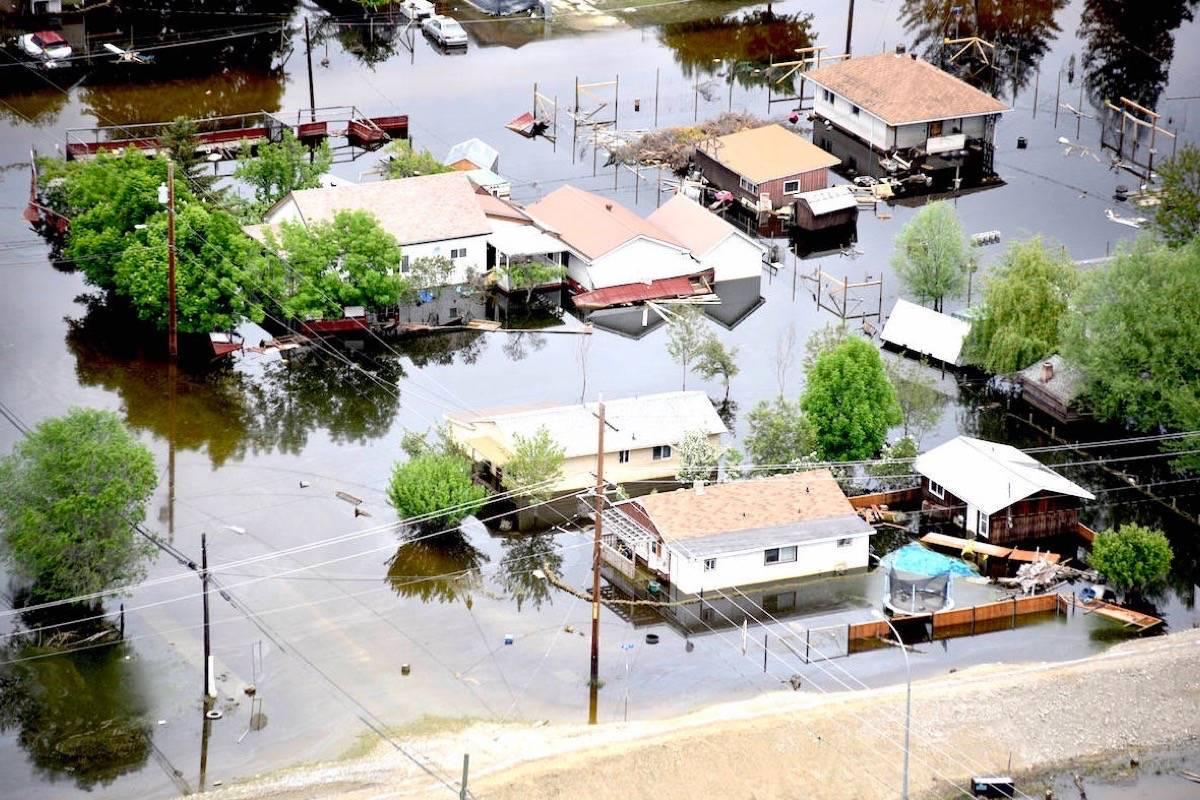 Flooding in Grand Forks, May 2018. (Grand Forks Gazette)