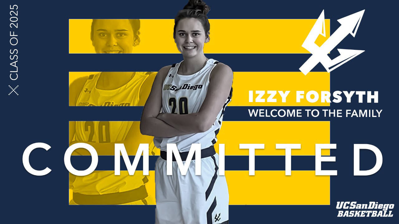 Brookswood's Izzy Forsyth was welcomed online by the University of California, where she will attend on a basketball scholarship (file)