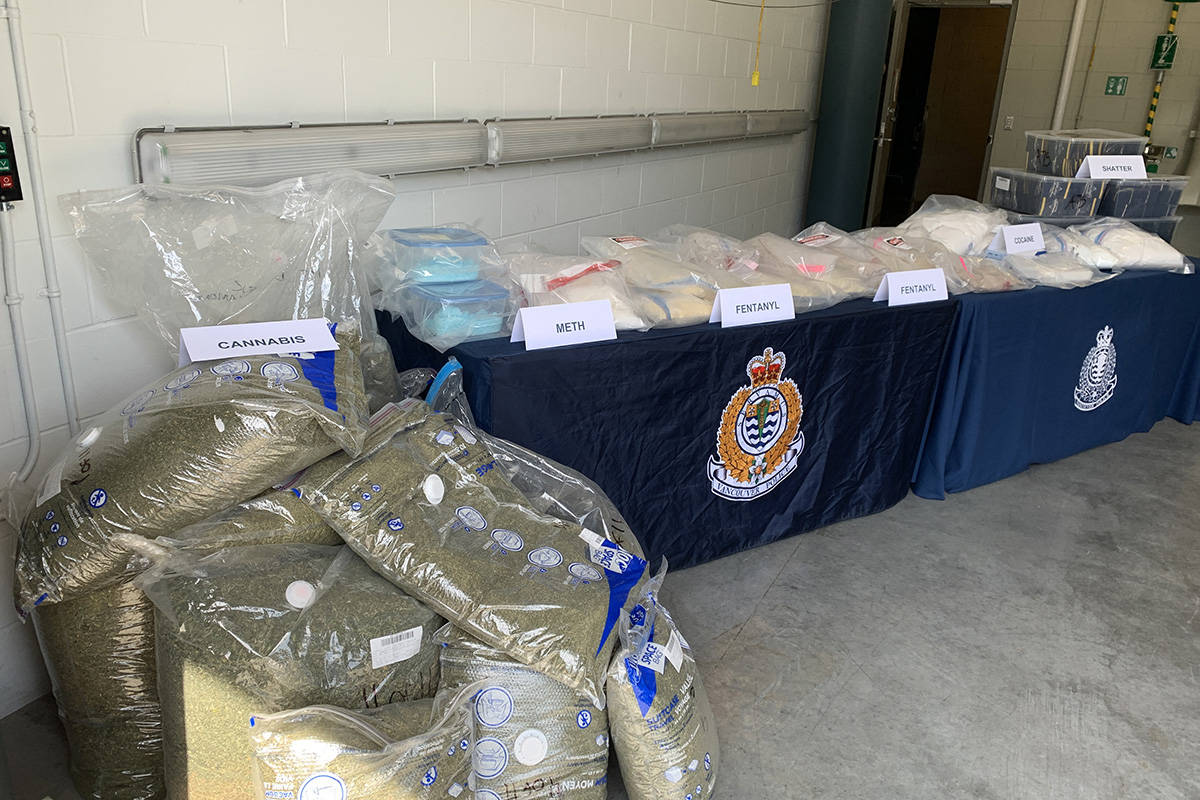 Vancouver police seized nearly $3 million of drugs as part of a four-month operation in 2020. (VPD)