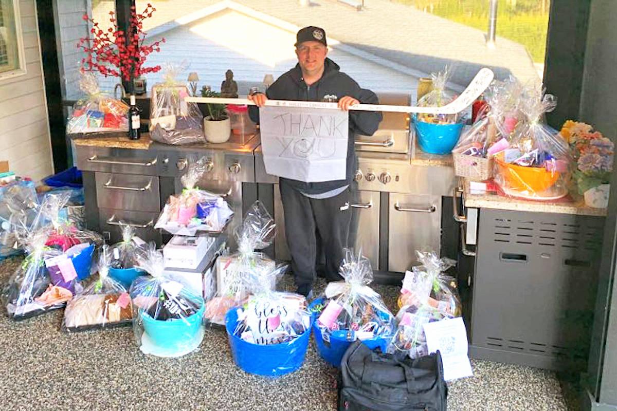 Public generosity 'blows away' Aldergrove truck driver fighting stage four cancer