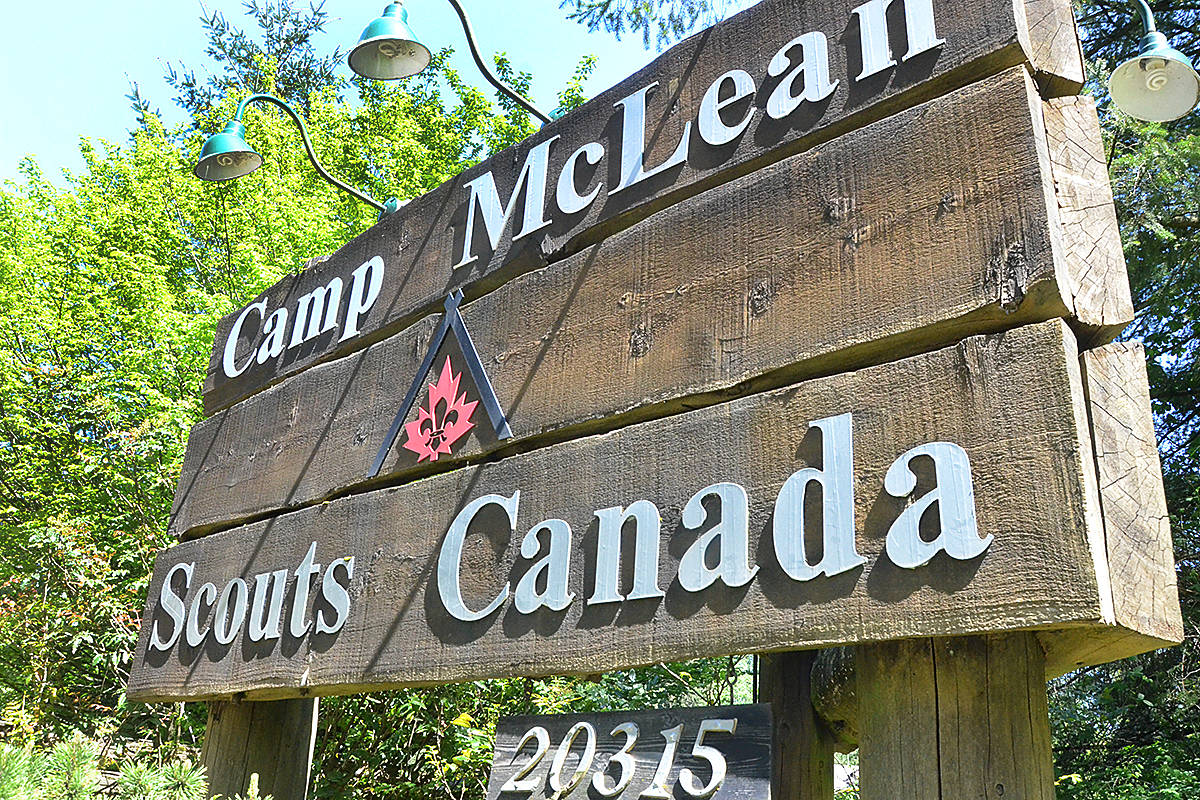 Camp McLean is a Scout camp located on 16th Avenue east of 200th Street in South Langley. (Matthew Claxton/Langley Advance Times)